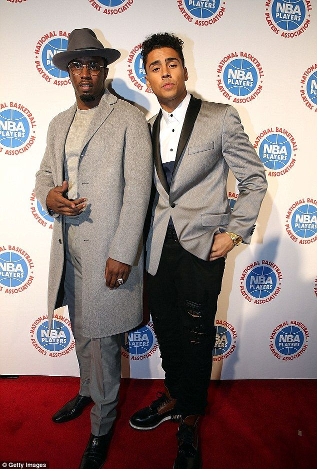 Quincy, who is the biological son of Al B. Sure!, was adopted by Sean Combs