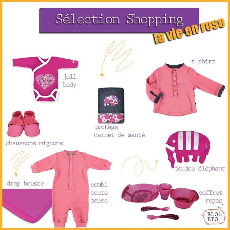 """Sélection Shopping """"La vie en rose"""""""