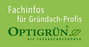 Dachbegrünung & Gründach von Optigrün