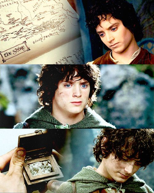 Frodo - the Ring couldn't stop him from going to Mordor, so it gradually stole everything of the Shire from him...
