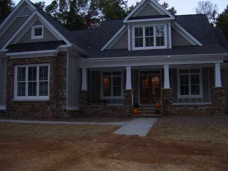 images about House Plans on Pinterest   House plans    Kensington Park   real life pic of the house  Frank Betz house plan