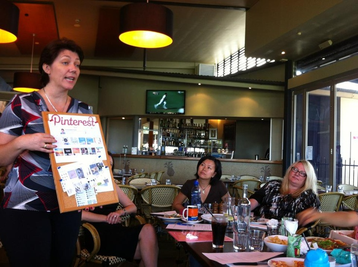 Talking about Pinterest with The Founding Mum's Group in Brisbane today - great fun!