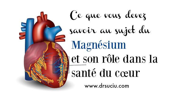La carence en magnésium affecte votre santé cardiovasculaire