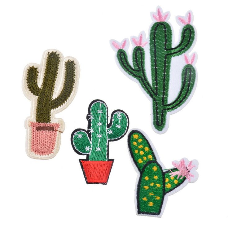 Cheap patch biker, Buy Quality patch factory directly from China patch heat Suppliers: Hoomall Hot Sell Mixed 4PCs Patches For Clothing Jeans Iron On Appliques Embroidered Fabric Patch DIY Cactus Sewing Accessories