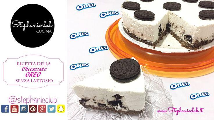 Cheesecake OREO - no bake - senza cottura - senza lattosio   stephanieclub