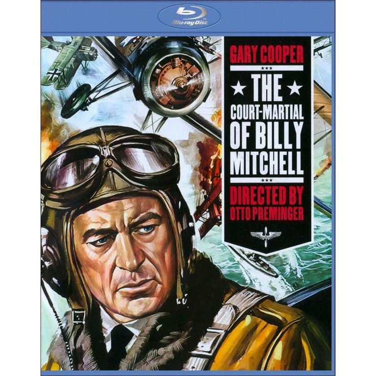 The Court Martial of Billy Mitchell [Blu-ray]