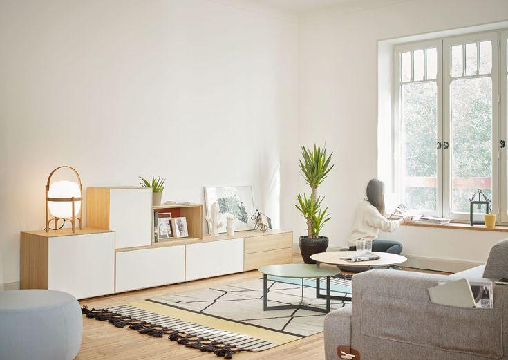 Mueble salón moderno treku