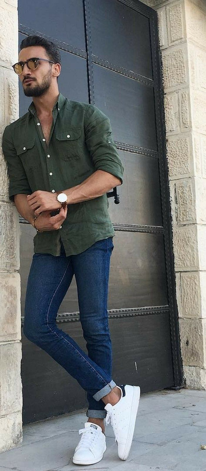 68d255322af0 11 Smart & Edgy Outfit Ideas For Men in 2019 | Sunglasses and ...