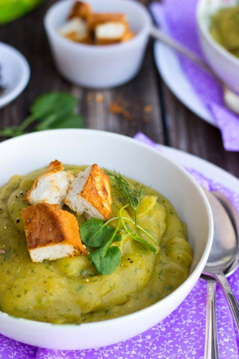 food chilled watercress potato soup with dill gf v chilled watercress ...