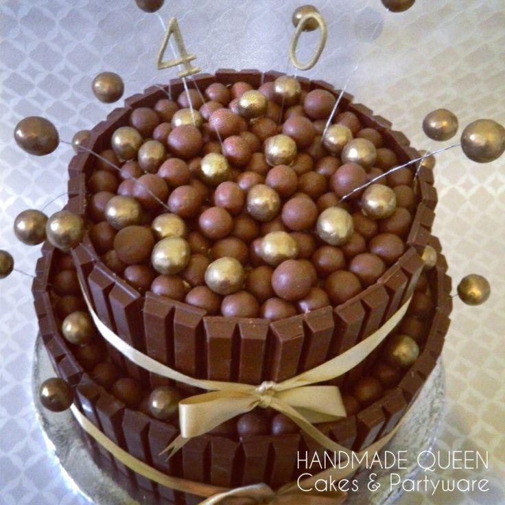 92 best chocolate kitkat cake images on Pinterest Chocolates