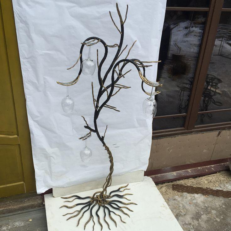 Дерево метал