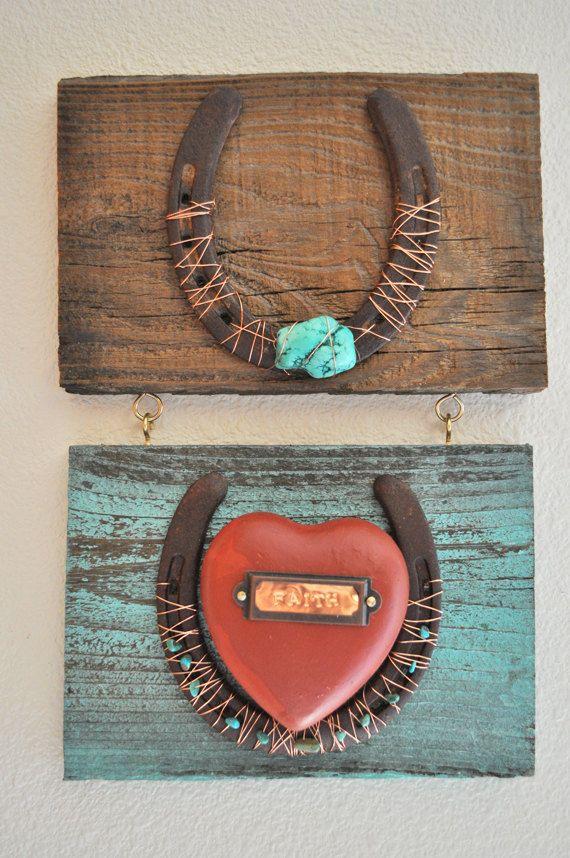 17 best images about horseshoe art on pinterest for Bulk horseshoes for crafts