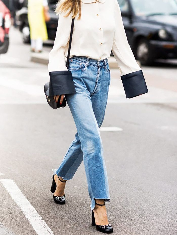 Love vintage jeans but just can't seem to find the right pair? Here's every fashion girl's secret.