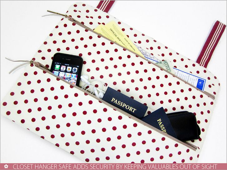 Closet Hanger Safe for Travel & More | Sew4Home