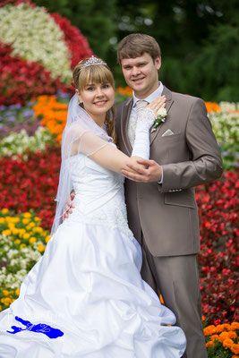 Als Hochzeitsfotograf auf der Insel Mainau / Konstanz. Mein Brautpaar hat die Location Mainau Blumeninsel ausgewählt. www.fotograf-vom-bodensee.de