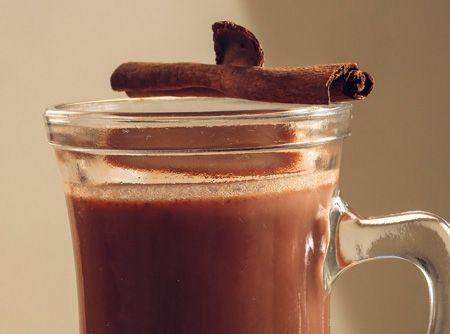 Quentão de chocolate -
