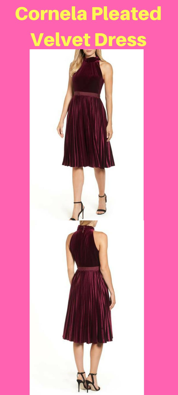 Cornela Pleated Velvet Dress #velvetdress #velvetdressdesign #fashion #dress #dressforsale velvet dress | velvet dress outfit | velvet dress short | velvet dress pakistani | velvet dress short outfit | Velvet dress | Velvet Dress 5 | Velvet Dresses style | velvet dresses |