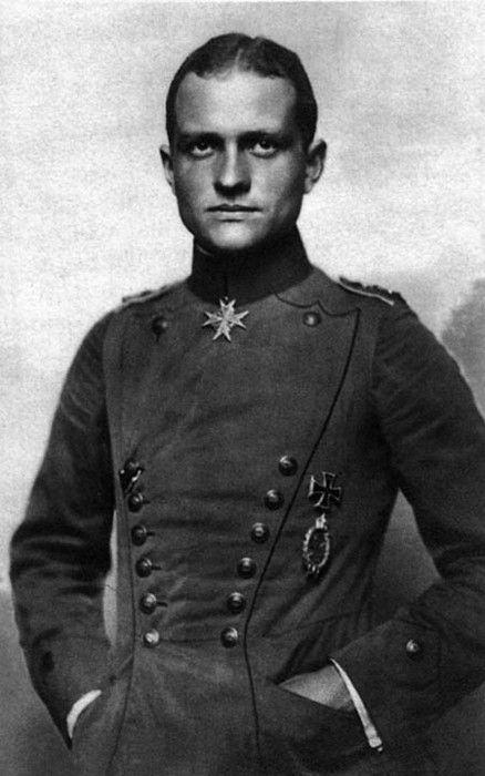 Manfred von Richthofen.. Red Baron. aviators.  He was made famous  again by Charles Schultz in Snoopy's daydreams.