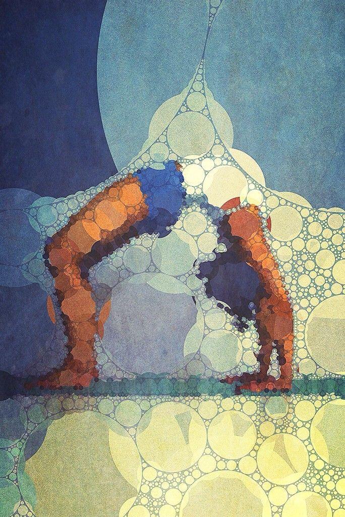 Yoga art 14 - John Dalton