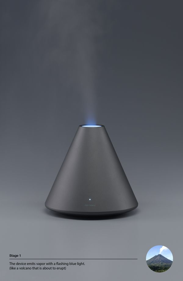 Volcano Series / Humidifier by Dae-hoo Kim
