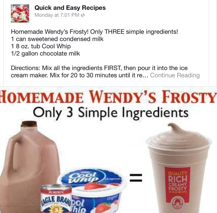 ... frosty homemade wendy s frosty and homemade frosty homemade wendy s