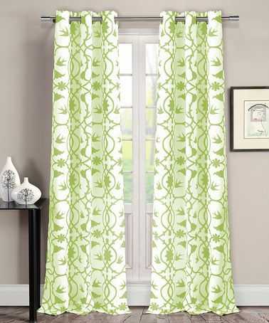 Green Curtains apple green curtains : 17 Best images about CURTAINS-GREEN and YELLOW on Pinterest | Set ...