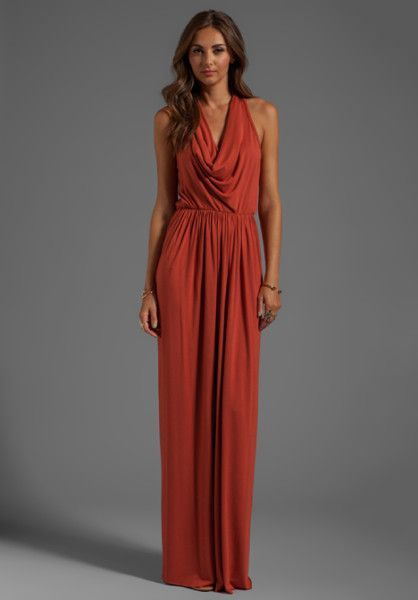 burnt orange bridesmaid dresses - Google Search