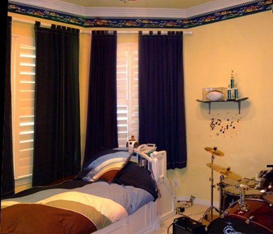 boys bedroom curtains