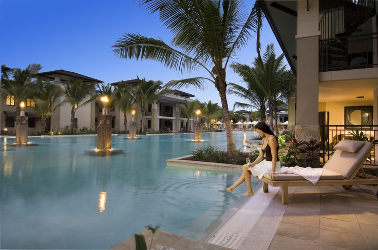 A swimming pool all to yourself at Pullman Port Douglas Sea Temple Resort and Spa
