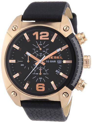Sale Preis: Diesel Herren-Armbanduhr XL Chronograph Quarz Leder DZ4297. Gutscheine & Coole Geschenke für Frauen, Männer & Freunde. Kaufen auf http://coolegeschenkideen.de/diesel-herren-armbanduhr-xl-chronograph-quarz-leder-dz4297