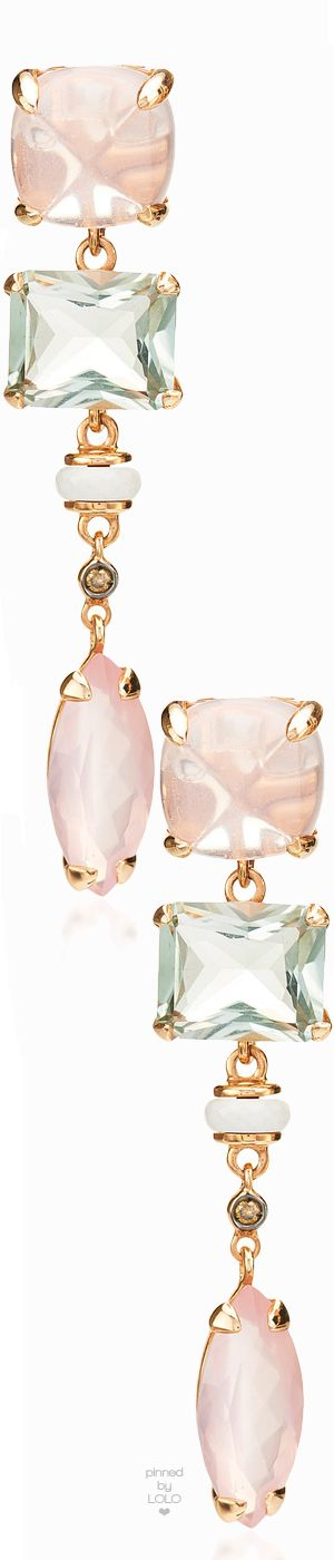 Alasia Anemoni Pink Quartz Earrings