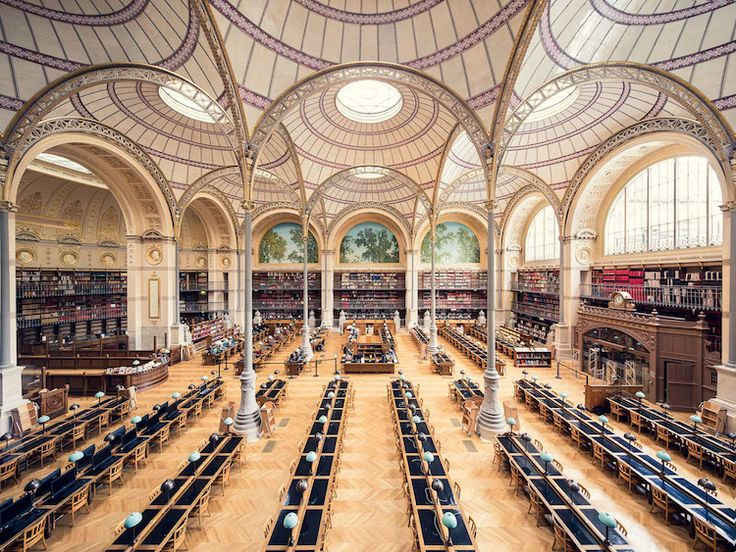 Library Photos Showcase the Institutions' Interiors and Architecture