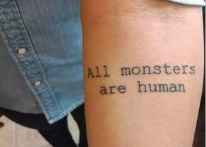This Quote About Who You Reall... is listed (or ranked) 2 on the list 25 Incredible Tattoos Inspired by American Horror Story