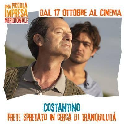 Costantino: prete spretato in cerca di tranquillità! #WarnerComedy #CinemaItaliano #UnaPiccolaImpresaMeridionale #RoccoPapaleo