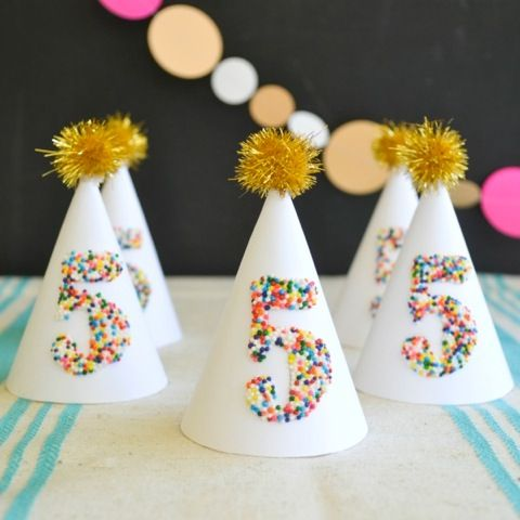 Sprinkled Party Hats