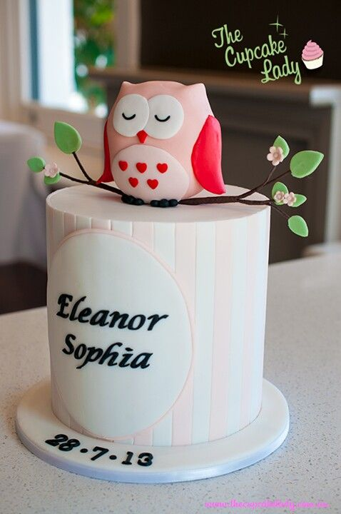I really want to make a Owl cake!!