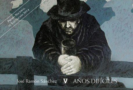 Esta es la primera obra escrita y pintada por José Ramón Sánchez tras recibir el Premio Nacional de Ilustración 2014. En ella retrata con la pluma y el pincel dos momentos de drama humano, casi seguidos en el tiempo: la gran depresión americana y la guerra civil española.