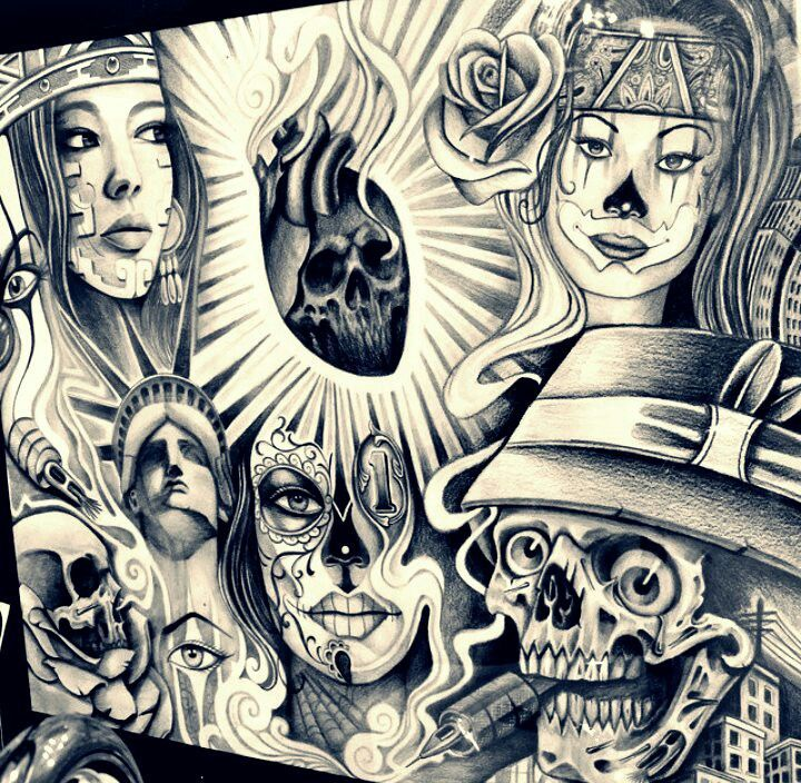 1523 best chicano images on pinterest tattoo designs for Aztec mural tattoos