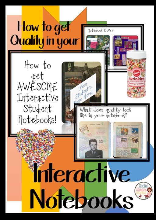 Sarah Scott, check out the other pins on ISNs I saved for you. Back to School with Interactive Notebooks: Are you just starting your Interactive Student Notebook journey with your students? Have you implemented Interactive Students Notebooks, but you are frustrated with the results you are getting from your students? Try this activity with your students to improve not only the quality of your Interactive Student Notebooks, but the overall quality of assignments turned in!