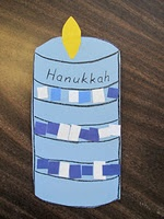 Hanukkah candle.  Going to try it next week!