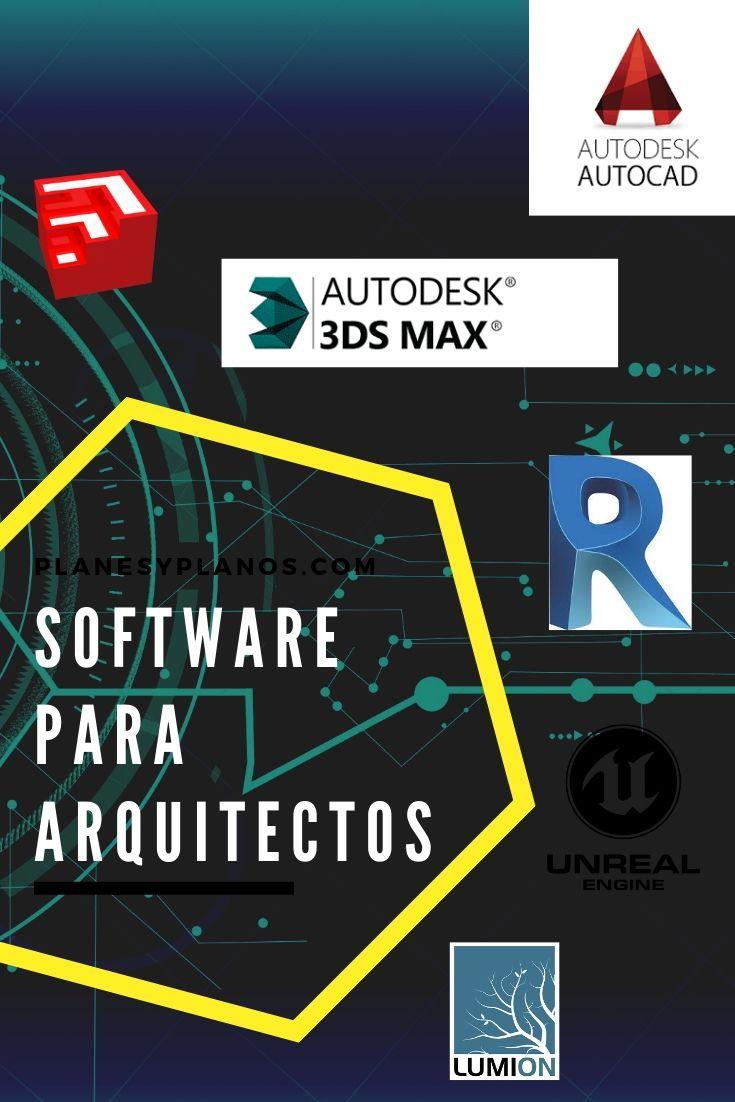 Los 15 Software Para Arquitectura Mas Usados 2019 Tutoriales Gratis Y Links De Descarga Diseno Arquitectonico Arquitectura Programa Arquitectura