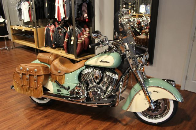 It S Here The All New Factory Two Tone Indian Chief