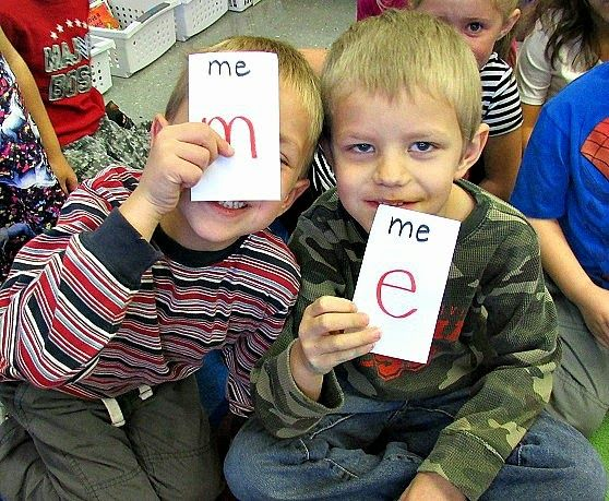 Kindergarten: Holding Hands and Sticking Together: Hidden Partners- Sight Word Style!