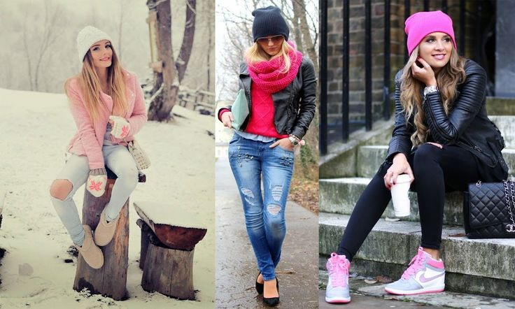 Outfits casuales con gorro