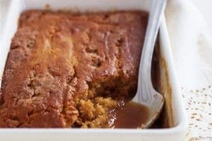 Butterscotch self-saucing pudding - We love the theatre of anything that self-sauces - this is no exception.