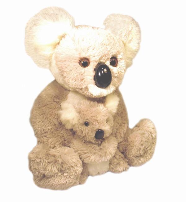 Koala pippa and pippi plush toy