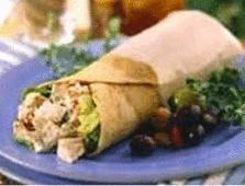 Zesty Turkey Wrap #ButterballEaster Low calorie Butterball turkey left-over idea!