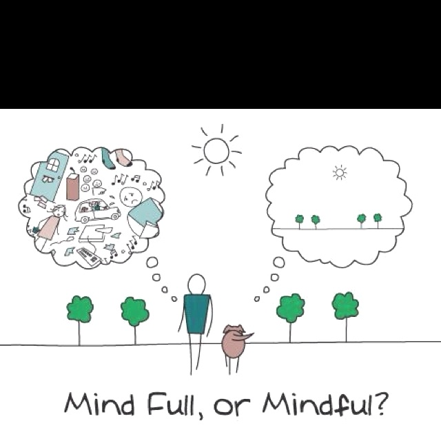 Be present and mindful
