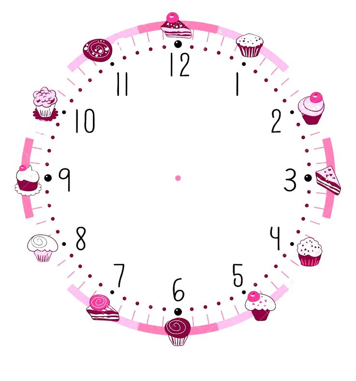 17 Best Ideas About Blank Clock On Pinterest Telling
