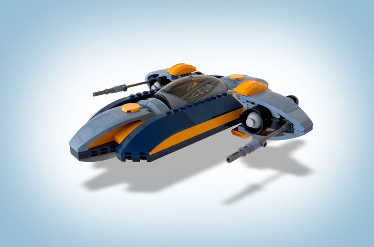 https://flic.kr/p/Bq1ifQ | Krain's Starspeeder | This is Krain's modified AeroLance Starspeeder as featured in the digital comic series, The Chronicles of Nova Wing.